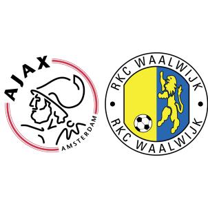 Ajax Vs Rkc Waalwijk H2h Stats Soccerpunter Com