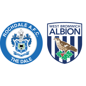 Rochdale Vs West Bromwich Albion H2h Stats Soccerpunter Com