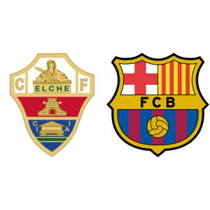 Elche Vs Barcelona H2h Stats Soccerpunter