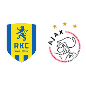 Rkc Waalwijk Vs Ajax H2h Stats Soccerpunter