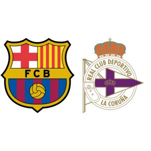 Barcelona vs Deportivo La Coruna