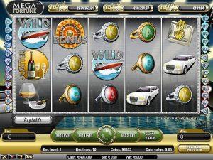 Mega Fortune Casino Games